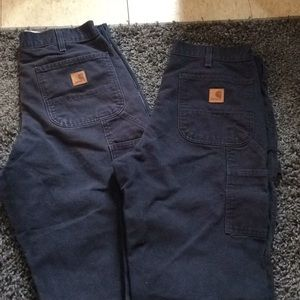 Other - Men's carhartt work pants two pair